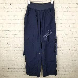 ZUMBA | Feelin' It indigo blue cargo pants